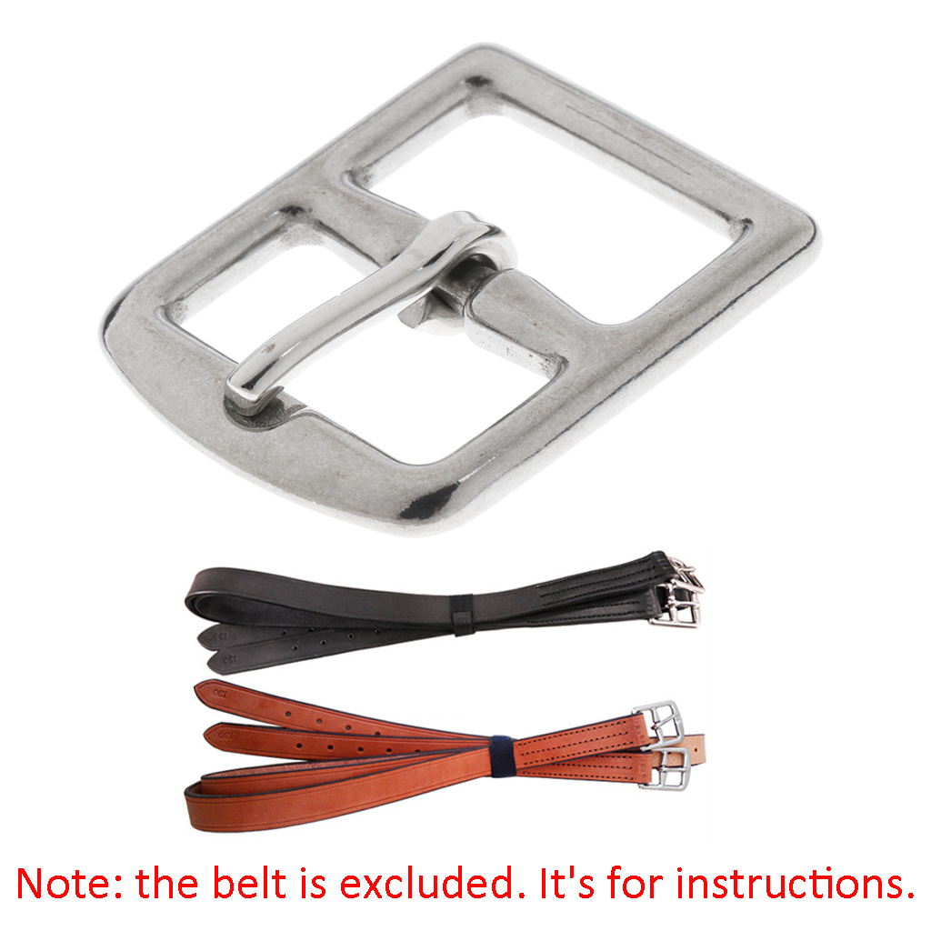 45mm X 35mm Stainless Steel Buckle For Horse Riding Stirrup Belt