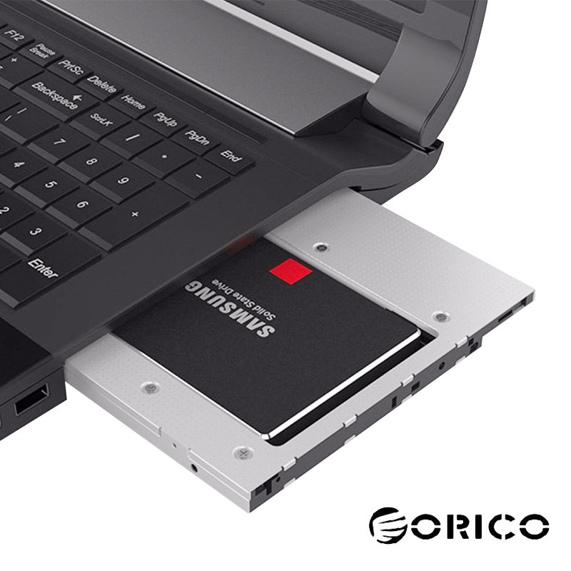 ORICO L95SS 2.5 Inch SSD HDD Caddy SATA 3.0 Optical Drive Case Enclosure