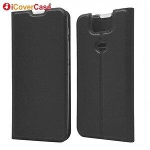 Чехол для Asus Zenfone 6 ZS630KL, откидной магнитный Бумажник, кожаные аксессуары для телефона, чехол-книжка, чехол для Asus Zenfone 6Z 6 2019
