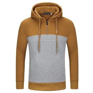 Мужская хлопковая толстовка с капюшоном, Повседневный пуловер с длинным рукавом, толстовка с капюшоном, мужские толстовки, свитшоты