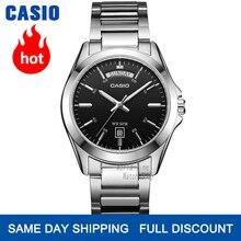 Hombres reloj de Casio reloj de marca de fábrica superior lujo conjunto cuarzo reloj militar 50m resistente al agua para hombres moda reloj de pulsera Sport relojes luminosos simple relogio masculino erkek kol saati