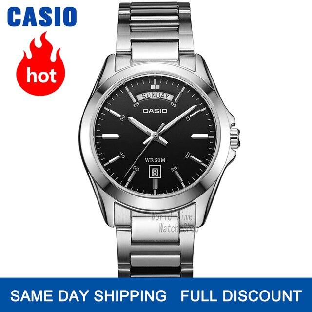 Đồng hồ nam Casio thương hiệu hàng đầu sang trọng thiết lập thạch anh watche quân đội 50m Không thấm nước đồng hồ nam thời trang Thể thao Đồng hồ đeo tay đơn giản Đồng hồ đeo tay nam dạ quang relogio masculino reloj