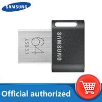 Samsung FIT Plus USB Flash Drive 32GB 64GB Pen Drive USB 3.1 piccolo dispositivo di archiviazione Memory Stick 128GB 256G U Disk Mini Flash drive