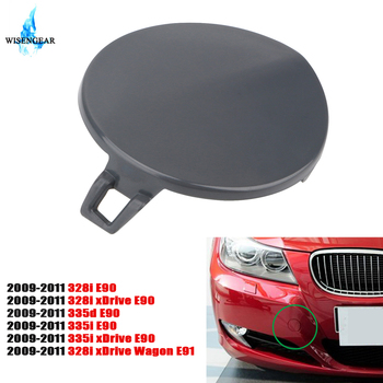 Front Bumper Tow Hook Cover Cap For BMW E90 E91 328i 335d 335i 328i xDrive 2009-2011 51117207299 Car External Accessory image