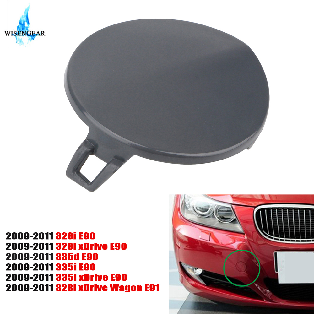 CITALL Front Bumper Tow Hook Eye Cover Cap Fit For BMW 3 Series F30 F31 2011-2015 51117293116