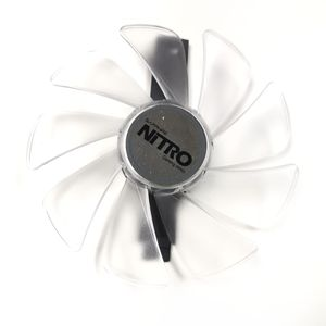 Image 1 - 95mm CF1015H12D Graphics Card Blue Led Cooler Fan for Sapphire NITRO RX480 RX470 RX580 RX570 RX590 RX 470 480 570 580 590 4G 8G