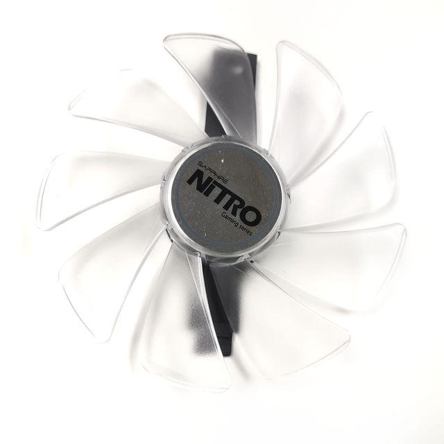 95mm CF1015H12D Graphics Card Blue Led Cooler Fan for Sapphire NITRO RX480 RX470 RX580 RX570 RX590 RX 470 480 570 580 590 4G 8G