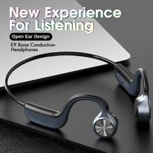 New E9 Z8pro Bone Conduction Wireless Headphones Bluetooth 5.0 Earphone Outdoor Sport