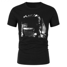 3D Printed car men Tees DAF Trucks T-shirt mens Tshirt summe