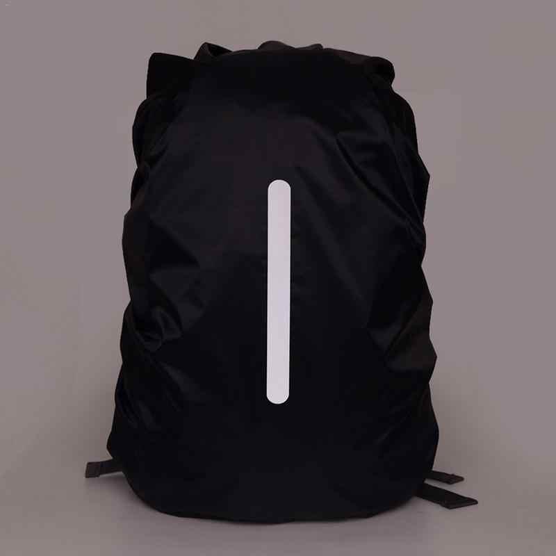 IKSNAIL Reflektierende Wasserdichte Rucksack Regen Cover Outdoor Sport Nacht Radfahren Sicherheit Licht Regenschutz Tasche Camping Wandern 55L Taschen