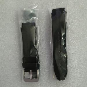 Image 3 - 100% garantie bracelet de montre bracelet en plastique caoutchouc sangles avec antenne pour LG Urbane 2 LTE w200 montre intelligente vis + outils gratuits