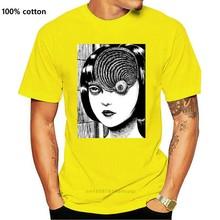 Uzumaki Junji Ito japon korku Manga erkekler & #039 ; S T Shirt S 5Xl