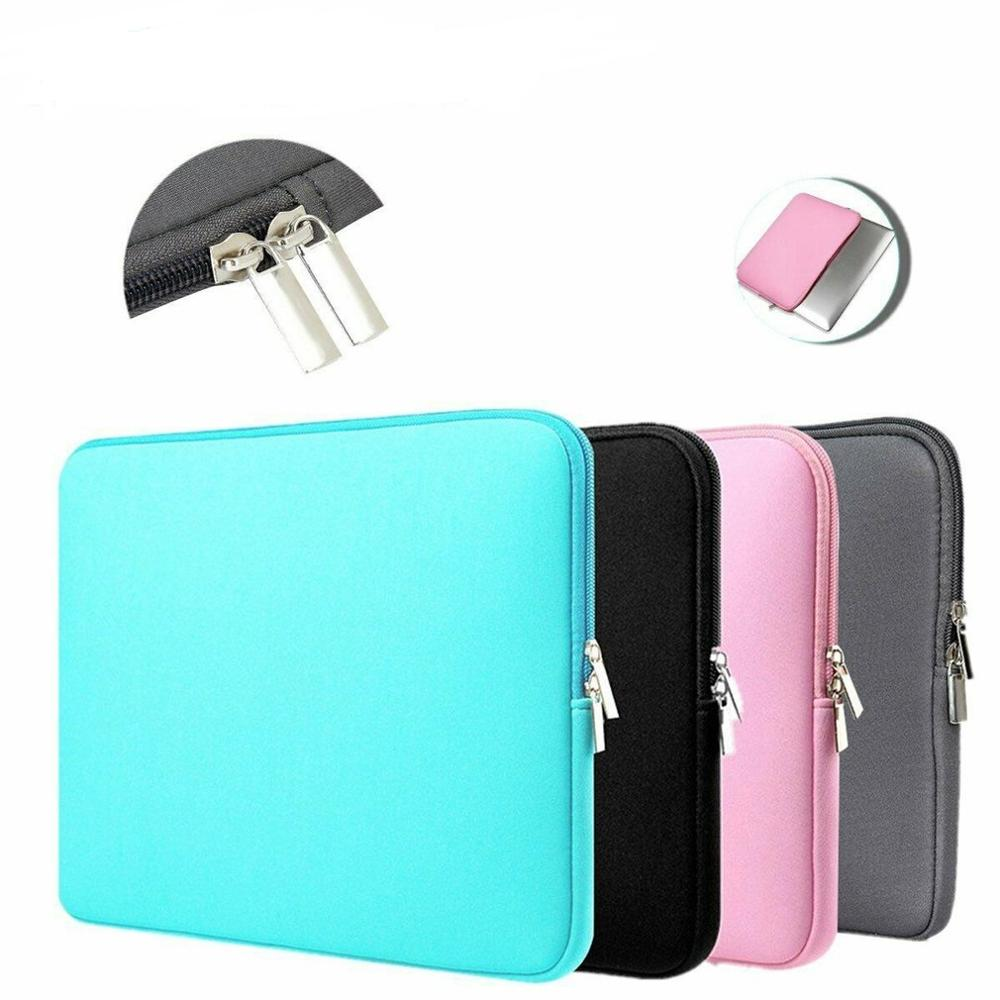 Soft Laptop Bag for Macbook air Pro Retina 11 13 14 15 Sleeve Case Cover For xiaomi Dell Lenovo Notebook Computer Laptop