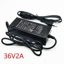 LiitoKala cargador de batería, cargador de batería de 12V, 36V, 29,4 V, 25,2 V, 48V, 12,6 v, 2A