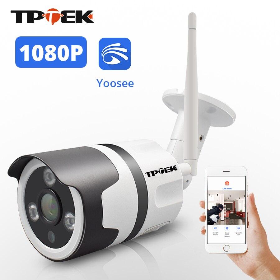 2MP WIFI caméra IP extérieure sans fil Wi-Fi Surveillance de sécurité étanche Yoosee Wi Fi 1080P caméra IP bidirectionnelle Audio caméra Camara