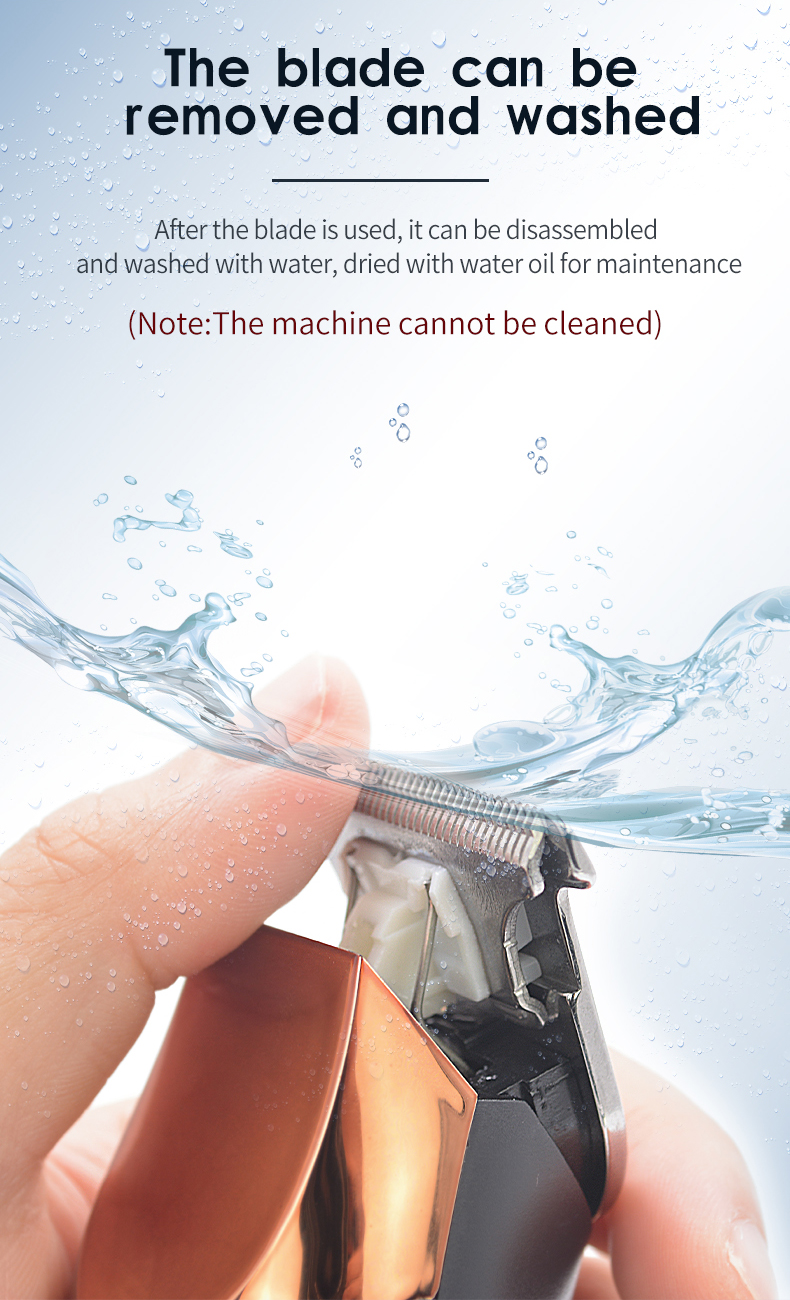 máquina de corte de cabelo bceard trimmer recarregável
