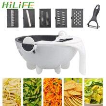 Garlic Grater Shredder-Ginger Drainage-Basket Slice-Machine Vegetable-Cutter Kitchen-Tools
