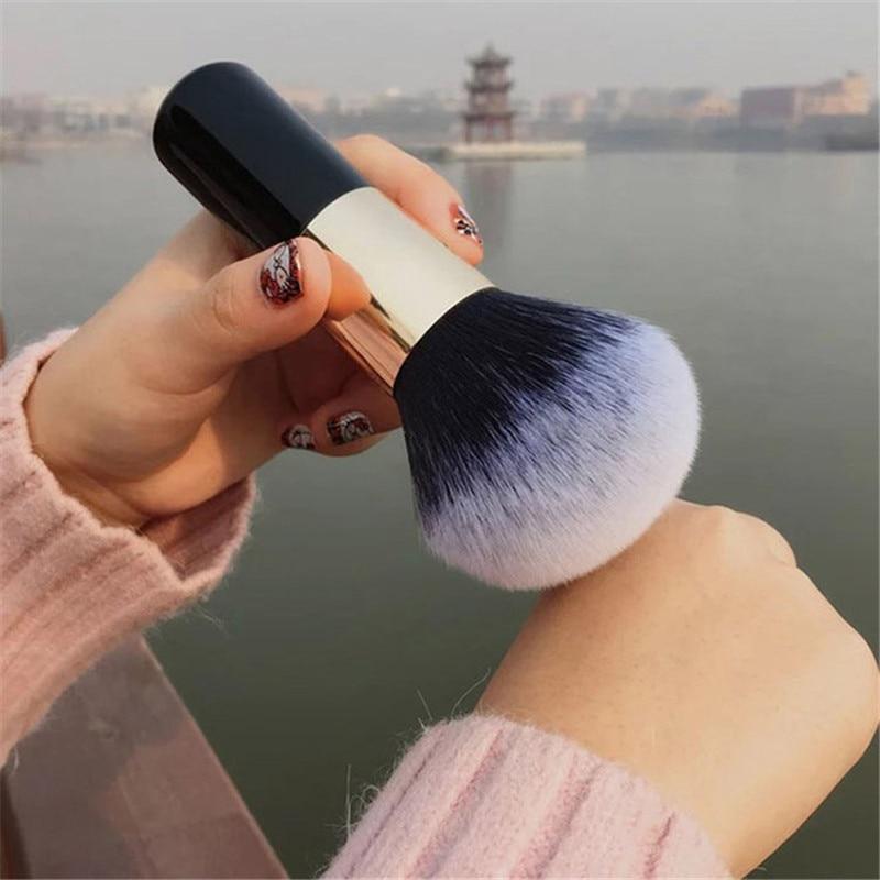 Big Size Makeup Brushes Chubby Foundation Powder Face Brush Set Soft Face Blush Brush Professional Large Cosmetics Make Up Tools