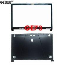חדש עבור MSI GE73 GE73VR 7RF 006CN מחשב נייד LCD כיסוי אחורי כיסוי למעלה מקרה אחורי מכסה דיור ארון שחור 3077C1A213HG017