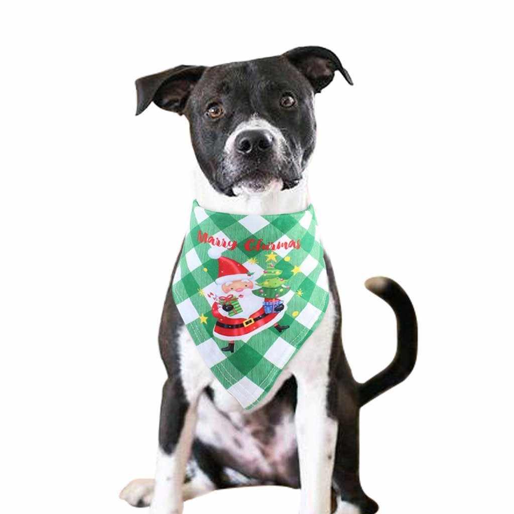 وشاح صيفي والكريسماس لكلاب القطط قابل للتعديل للأطفال/الكلاب الصغيرة والقطط ربطات عنق مثلثة ربطات عنق زينة للحيوانات الأليفة 2020