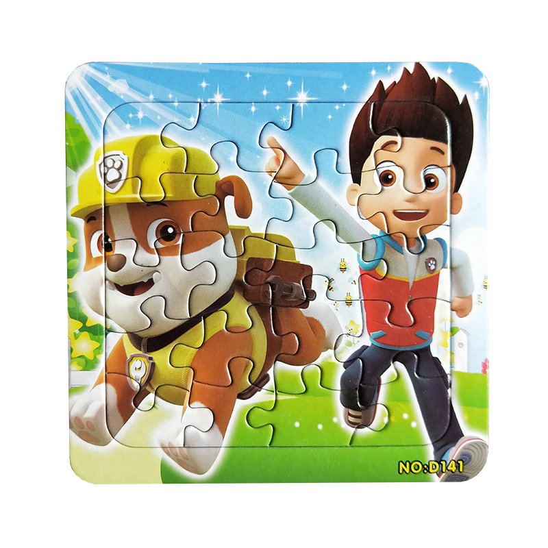 Huilong Jamie Whitney Puzzle Famous Cartoon Educational Toy For Children Digital Paper  Kid Toys Difficult Puzzle Kids Puzzle