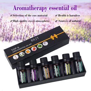 Aromatherapy-Oils-Kit Humidifier Fragrance Essential-Oil-Set Natural Skin-Care Water-Soluble