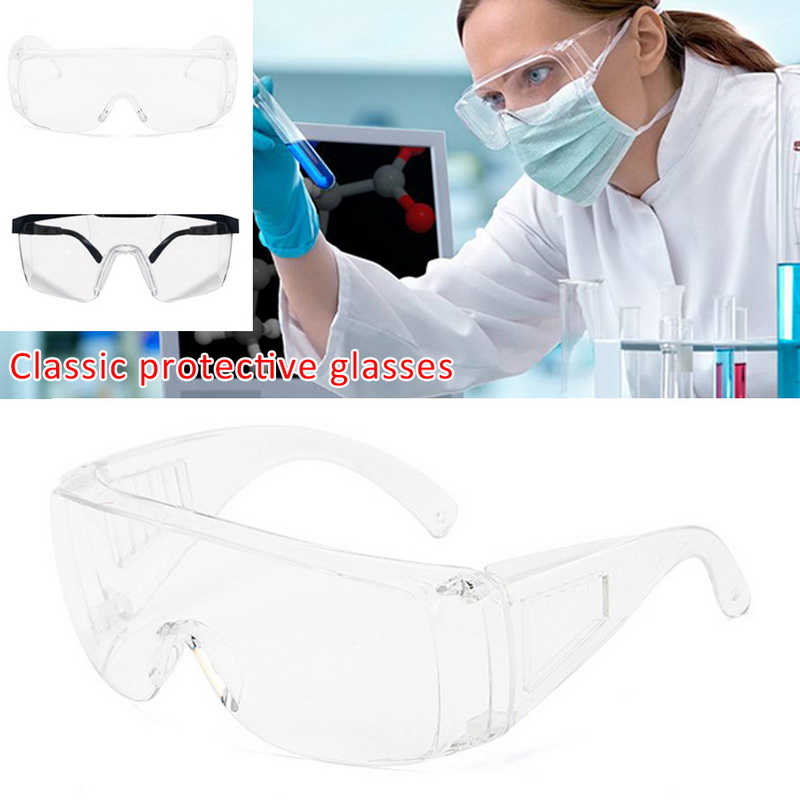 Glasses, Work Protection, Splash-proof, Transparent, Anti-fog, Sand-proof, Shock-proof Safety Goggles For Mounting