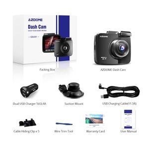 Image 5 - AZDOME GS63H Auto Dash Cam 4K 2160P Dash Kamera Dual Objektiv Gebaut in GPS DVR Recorder Dashcam Mit wiFi G Sensor Loop Aufnahme