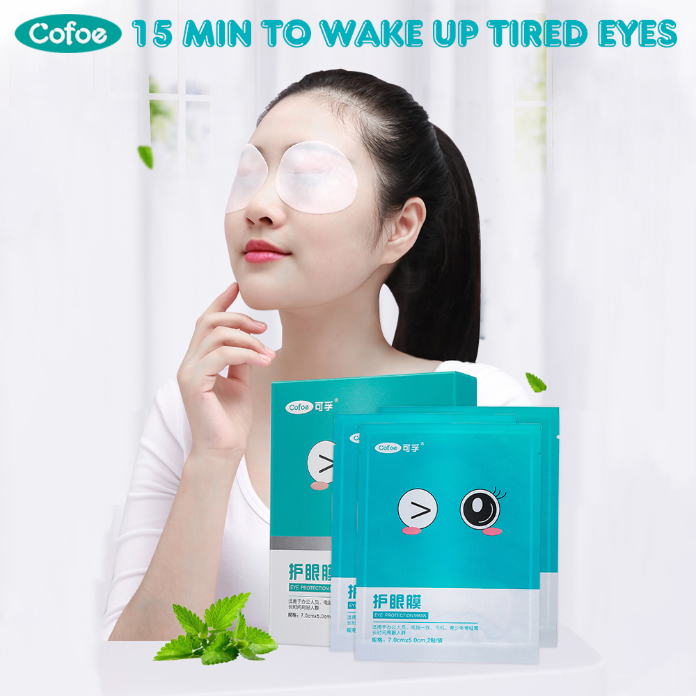 Cofoe 24pcs Eye Mask Relieve Eye Fatigue And Dry Eyes Remove Black Circles And Pouches Eye Care Refreshing And Soothing Eye Skin