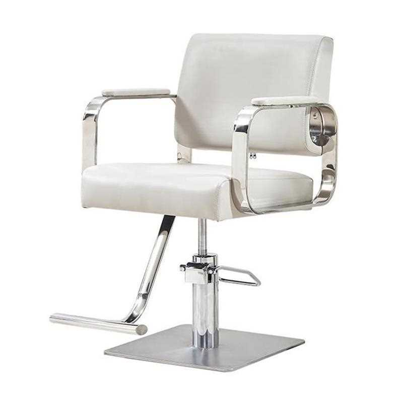 H1 New Hairdressing Chair Hairdressing Salon Special Barber Shop Salon Shearing Chair Stainless Steel Armrest Hairdres Cheap image