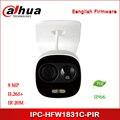 Dahua IPC-HFW1831C-PIR 8MP WDR IR Mini Rede Bala câmera IP suporte para Câmera POE