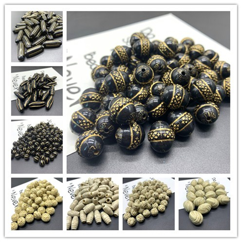 Acrylic Beads Earrings Necklace Accessories Beads For Jewelry Making DIY Jewelry Necklace Bracelet Earring Accessories Wholesale