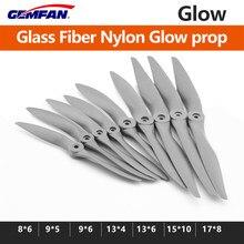 1pcs GEMFAN Glass Fiber Nylon Glow Propellers 8X6/9X5/9X6/13X4/15X10/17X8 for DIY RC Models/ Level Engines Spare Parts