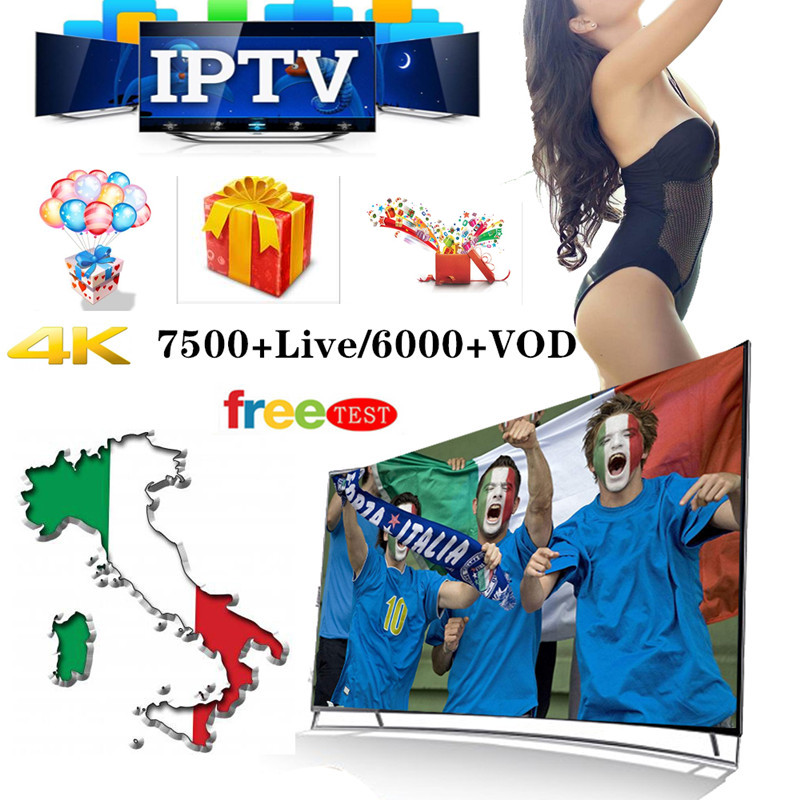 1 Year Europe IPTV Subscription Italy France UK German French Spain Portugal For Ssmart TV IPTV M3U Enigma2 Android VLC