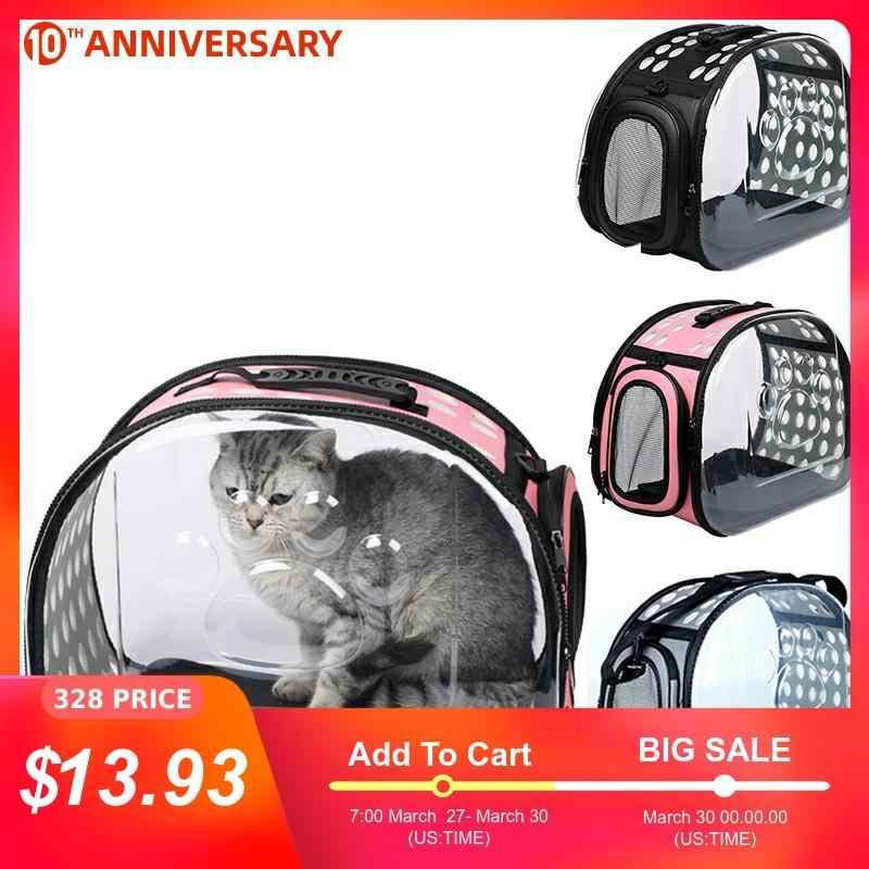 Huisdier Hond Kat Rugzak Reizen Kat Carrier Dubbele Schoudertas Ruimte Capsule Kat Rugzak Voor Tas Kleine Huisdier Handtas Kat carrying