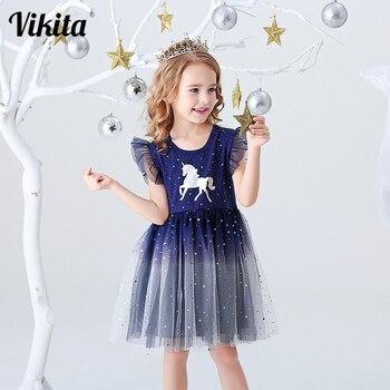 שמלת חד קרן מסתובבת לבנות נסיכות בשלל עיצובים