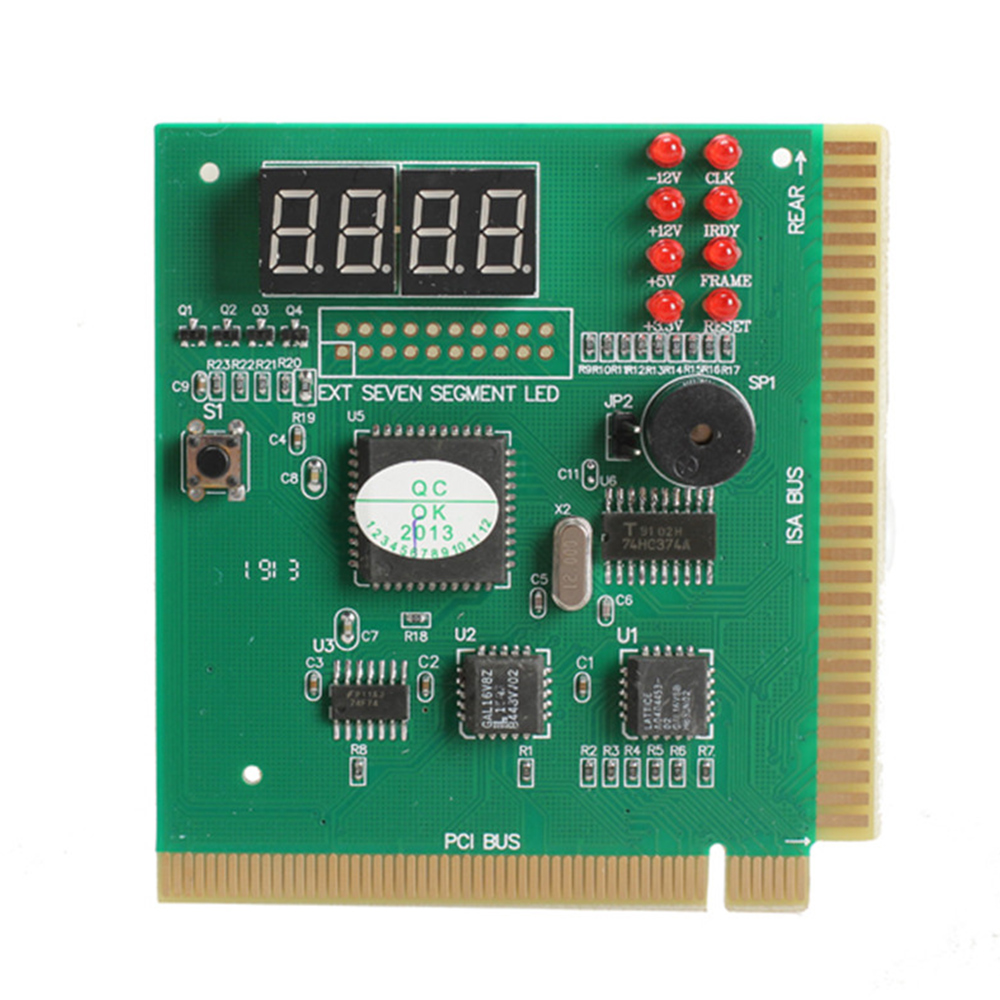4-Digit LCD Display PC Analyzer Diagnostic Card Motherboard Post Tester Computer Analysis PCI Card Networking Tools