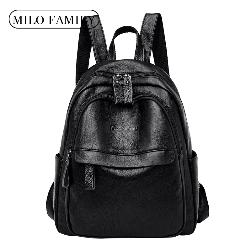 2020 Fashion Women Backpacks High Quality Female Vintage Backpack For Girls School Bag Travel Bagpack Ladies  Back Pack