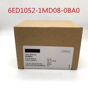 ПЛК с дисплеем, новый оригинальный 6ED1052-1MD08-0BA0 LOGO 12/24RCE с модулем 12/24 В постоянного тока/реле 8 DI 4AI 6ED1 052-1MD08-0BA0 PLC