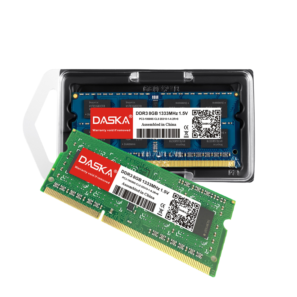 DASKA Laptop RAM Memory With 2GB 4GB 8GB 1600/1333 MHz Suitable for Laptop 4