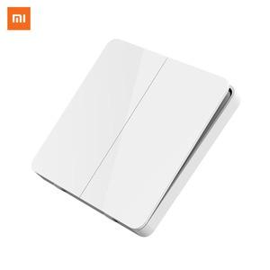 Image 2 - Xiaomi mijia básico interruptor de parede único/duplo/três aberto interruptor de controle duplo 2 modos interruptor para luzes da lâmpada interruptor
