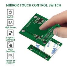 Bathroom LED dimmer 12v touch sensor 5v capacitive touch sensor switch 24v 5A 8A touch dimmer for mirror light
