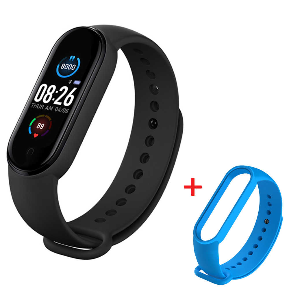 M5 Smart Uhren Bluetooth Armband Sport Uhr Fitness Tracker Pedometer Herz Rate Monitor SmartBand Armband für Android IOS