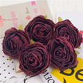 30pcs 7cm High Quality Artificial Rose Flower Head For Home Wedding Decoration DIY Wreath Flower Wall Accessories Fake Flowers