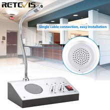Retevis RT-9908 Anti-interference Noise-Free Dual-Way Audio Record Output Counter Interphone/Radio/ Walkie Talkie 110V A9101A