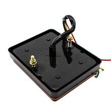 Замена светодиодный индикатор водонепроницаемый Янтарный ABS пластик пылезащитный