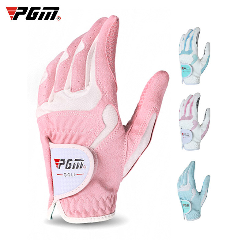 Luvas de Golfe Esquerda e Mão Feminino Direita Luvas Esportivas Pano Golfe Respirável Palms Protetores Whshopping 1 Pçs Mão
