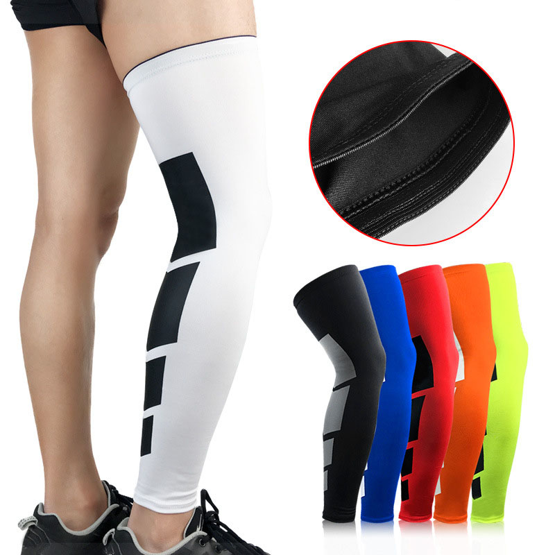 Thigh High Tube Compression Sleeves Mens Womens Yoga Knee Sport Stockings Leg Suport Socks