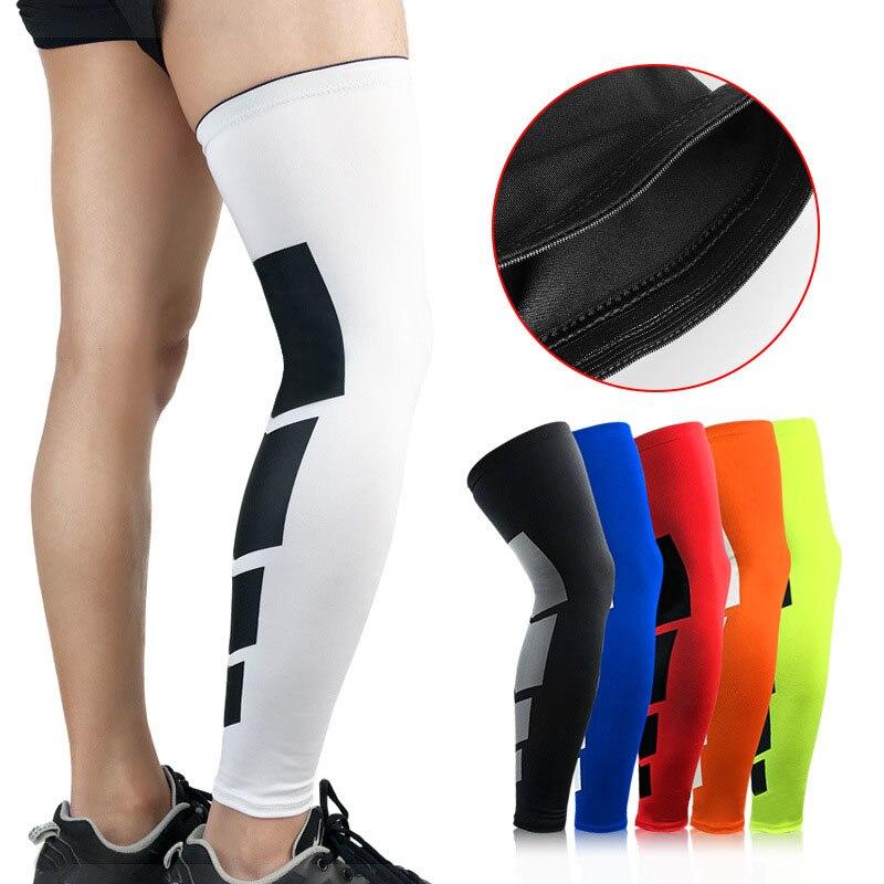 Thigh High Tube Compression Sleeves Mens Womens Yoga Knee Sport Stockings Leg Suport Socks
