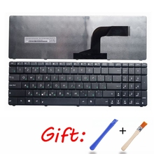 GZEELE Russian for Asus N50 N53S N53SV K52F K53S K53SV K72F K52 A53 A52J U50 G51 N51 N52 N53 G73 X61G X61 RU Laptop keyboard